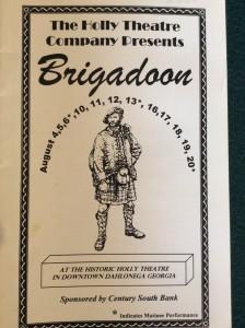 brigadoon-2000-playbill