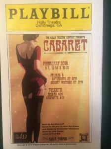 cabaret-playbill
