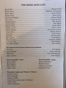 Cast list 09