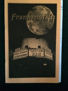 frankenstein-playbill
