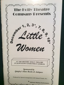 little-women-playbill