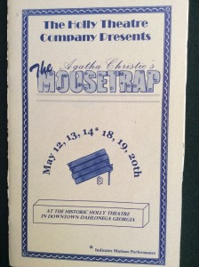 mousetrap-2000-playbill