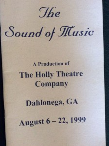 sound-of-music-1999-playbill