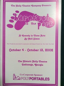 barefoot-in-the-park-playbill