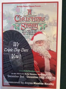 christmas-story-playbill
