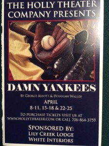 damn-yankees-playbill