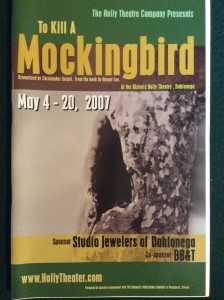 to-kill-a-mockingbird-2007-playbill