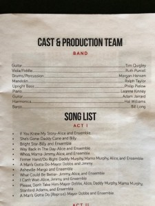 band list