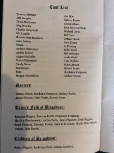 brigadoon-2000-cast-list