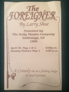 foreigner-playbill