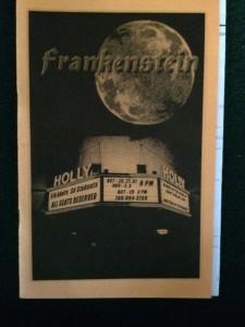 frankenstein-playbill