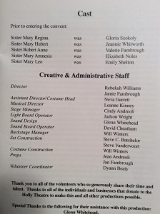 nunsense-2009-cast-and-crew-list