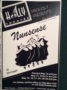 nunsense-2009-playbill