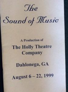 sound-of-music-1999-playbill