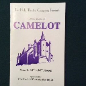 camelot-playbill