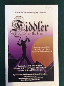 fiddler-playbill
