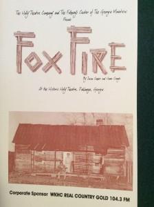 foxfire-2002-playbill