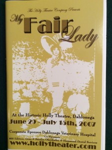 my-fair-lady-playbill