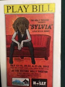 sylvia-playbill